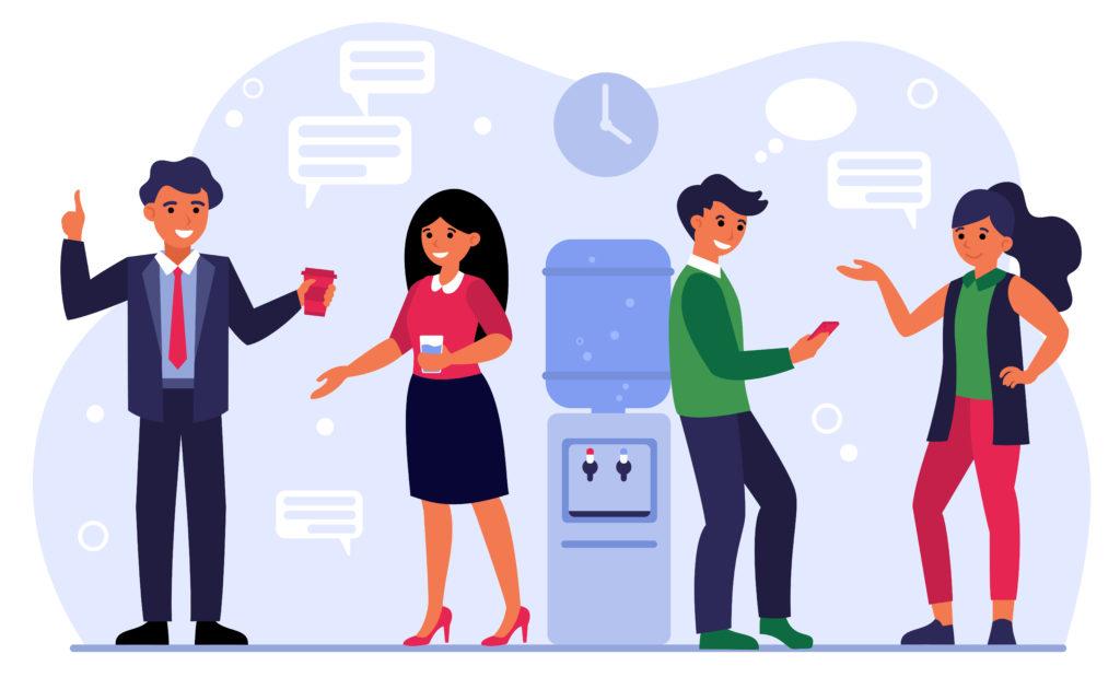 Communication plus personnalisée, moins formelle, plus décontractée et bienveillante
